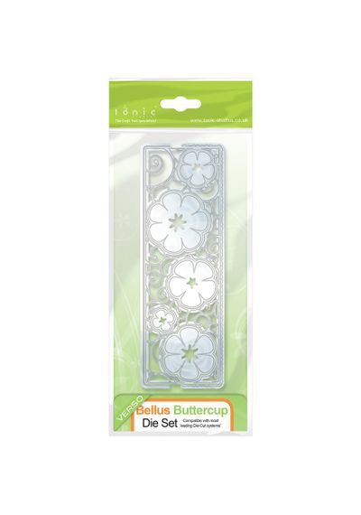 Bellus Buttercup - Entwining Trellis Base Die Set
