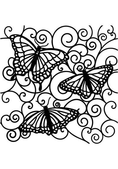 Flutterby - Stencils