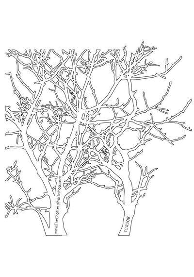 Branches - Stencils