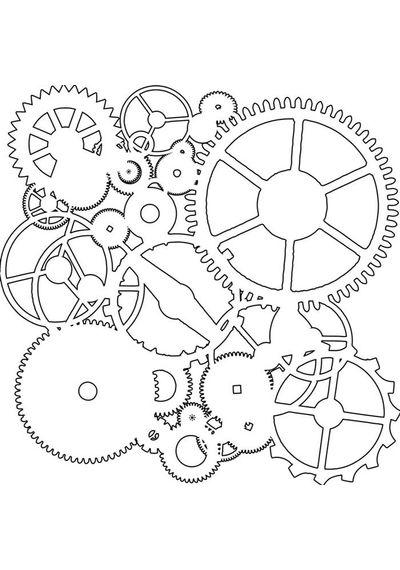 Gears - Stencils