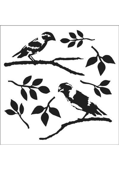 Love Birds - Stencils