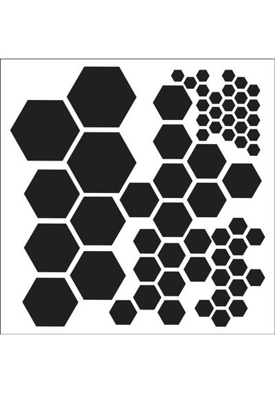 Hexagons - Stencils