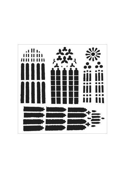 Church Windows - Stencils