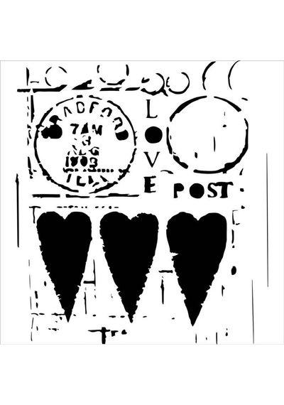 Love Post - Stencils