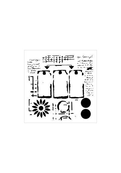 Three Tags - Stencils