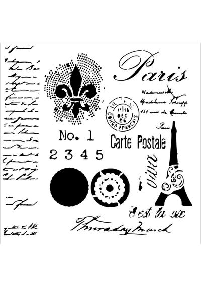 Carte Postale - Stencils