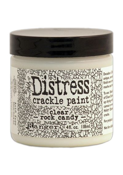 Clear Rock Candy - Crackle Paint