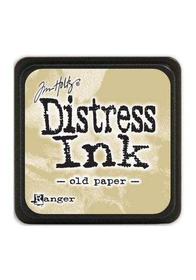 Old Paper - Mini  Distress ink pad