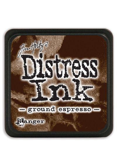 Ground Espresso - Mini  Distress ink pad
