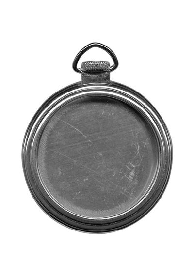 Pocket Watch Frame - Antique Nickel