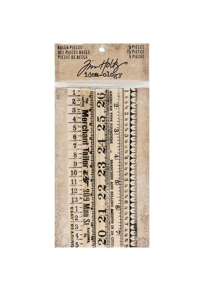 """Wooden Ruler - .5""""X6"""""""