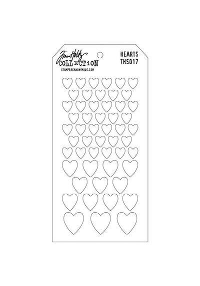 Hearts - Stencils