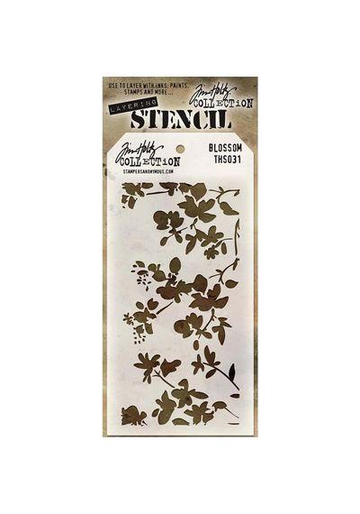 Blossom - Stencil