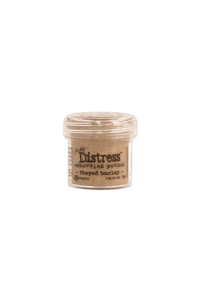 Frayed Burlap - Embossing Powder