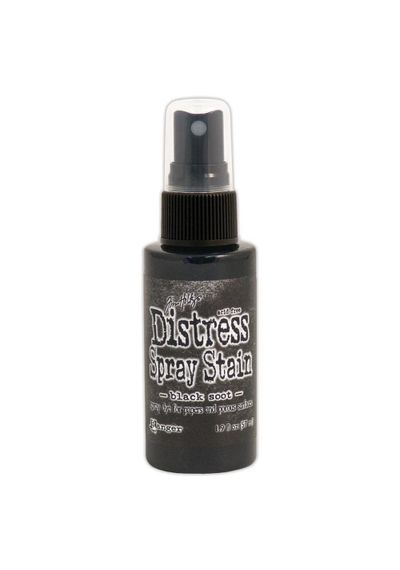 Black Soot - Distress Spray Paint