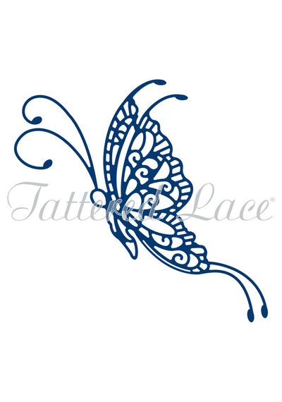 Goldwork Lace Butterfly Die