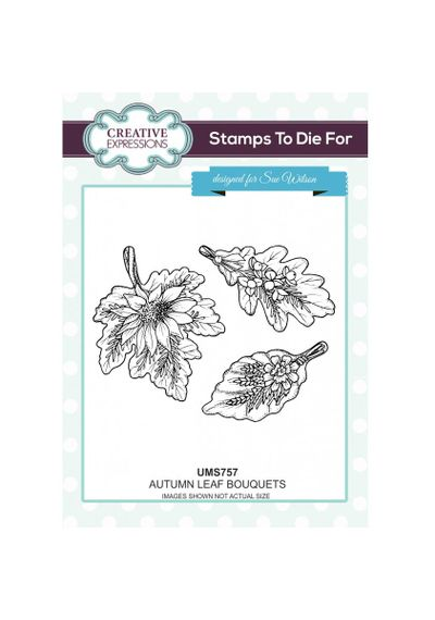 Autumn Leaf Bouquets Stamp