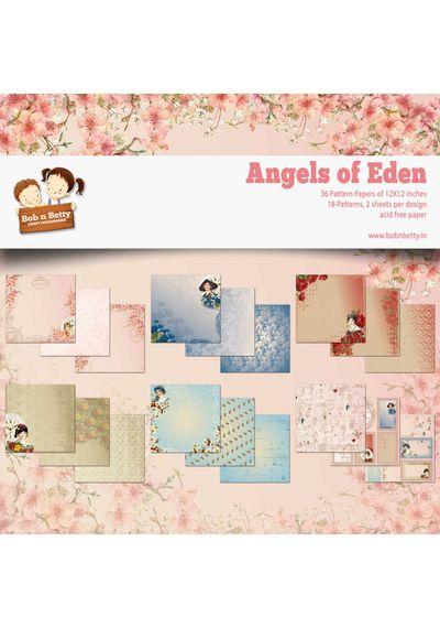 """Angels of Eden 12""""X12"""", 36/pkg"""