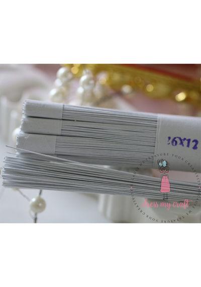 Flower Making White Wire - 26 x 12