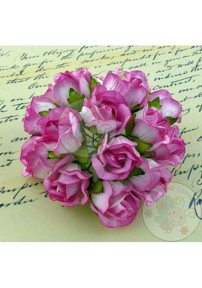 Pink - Big Rose Buds