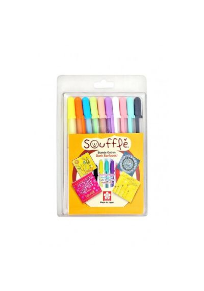 3-D OPAQUE INK PENS SET OF 10