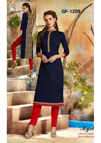 SALWAR.UK  Elegent Blue Designer kurti