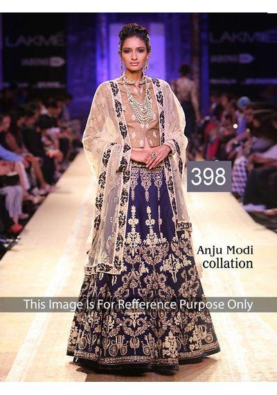 SALWAR.UK B335 Manikarnika Anju Modi Heavy Designer Lehenga Choli