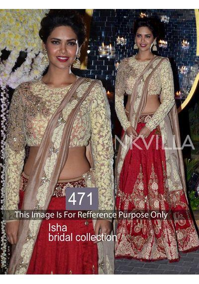 SALWAR.UK Isha Bridal Collection Designer Lehenga Choli