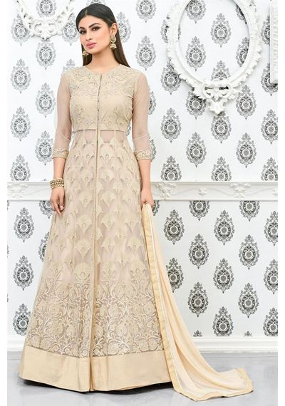 A199 SALWAR.UK DISTINCTIVE AND DESIRE PARTY WEAR ANARKALI FROCK STYLE INDIAN DRESS 7384