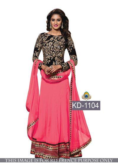 SALWAR.UK Decent Pink Designer Suit