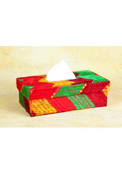 Phulkari Tissue box