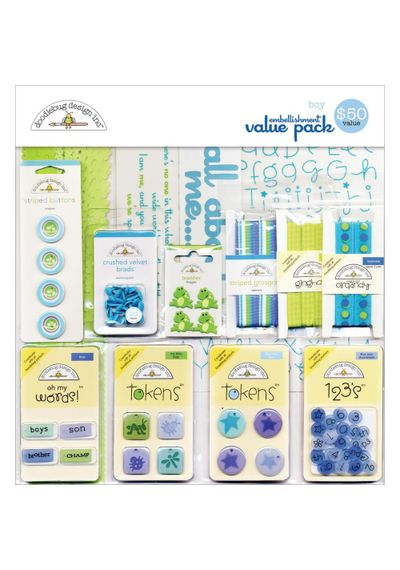 Embellishment Value Pack - Boy