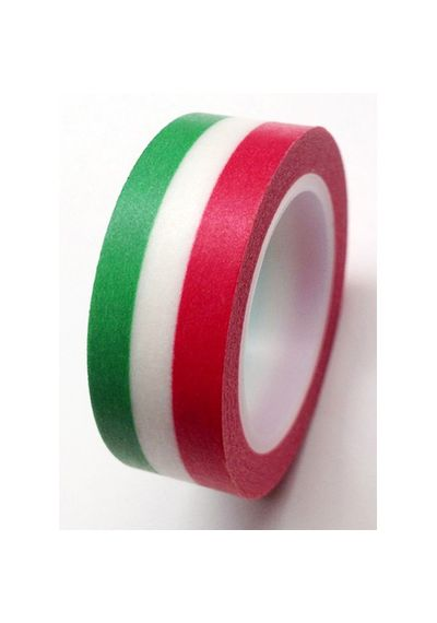 Washi Tape - Italy Flag - Red White Green