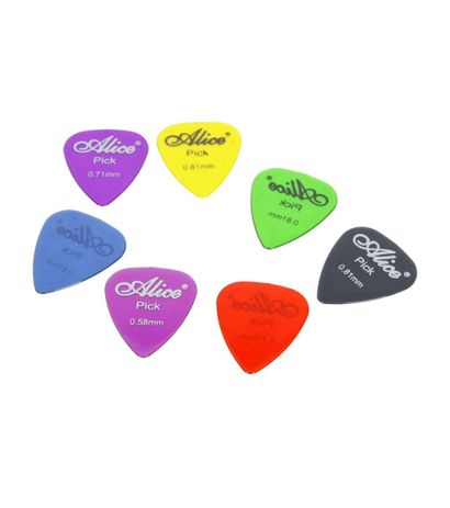 Alice Celluloid Guitar Pick 7pcs