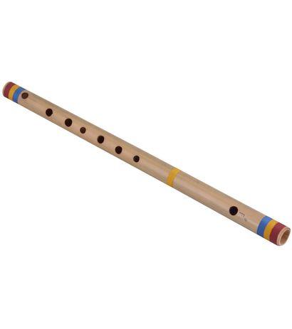 SG Musical Scale F# Medium 27 cm , Finest Indian Bansuri, Bamboo Flute, Hindustani