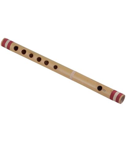 SG Musical  Scale  B Natural Medium  35 cm Finest Indian  Bansuri, Bamboo Flute