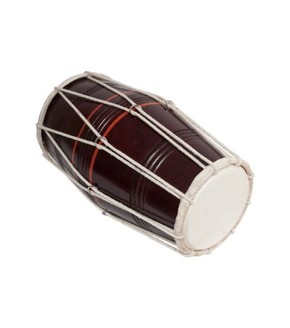 SG Musical Deluxe Mumbai Style Cord and Ring Dholak