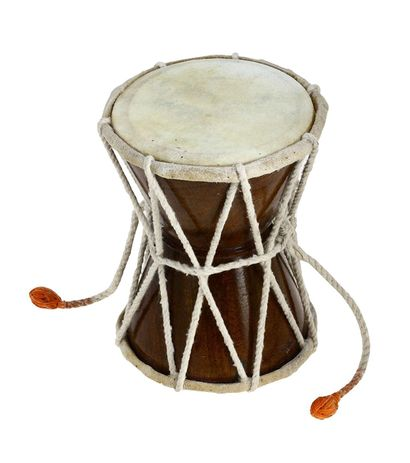 Damaru Indian Folk Percussion Musical Instrument