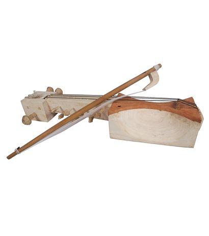 SG Musical Handmade Wooden Jogiya Sarangi Classical Indian Folk Musical Instrument Violin