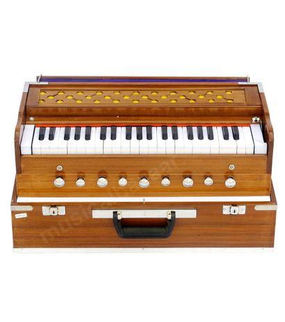 SG MUSICAL Folding Harmonium  Natural Color Safri