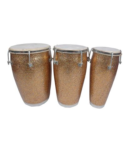 SG Musical Mini Congo or Conga Drum Set By Best Indian Professionals in Fiber Body Elegant