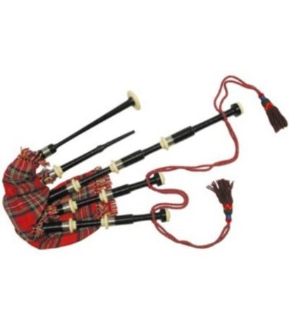 SG Musical Bagpipes Rosewood Full Mounts(Silver)