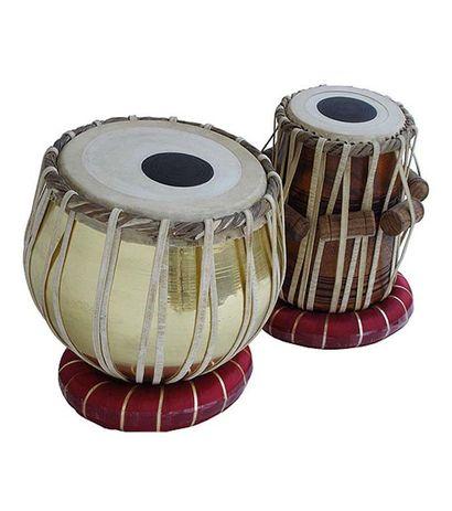 SG Musical Golden Tabla Set 3 Kg Brass Bayan Sheesham Dayan
