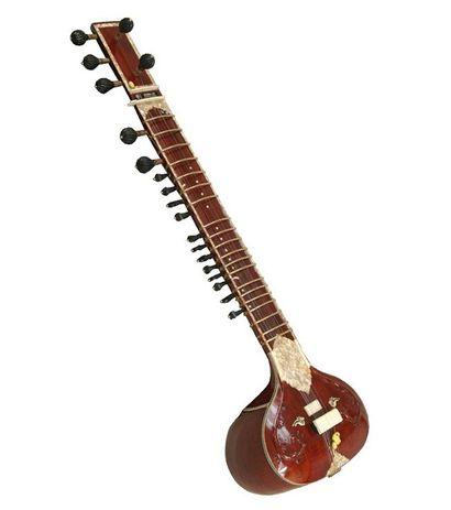 Sg Musical Palace Brown Sitar