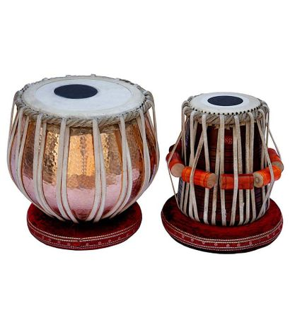 02 - SG Musical 3 Kg Copper Bayan Tabla Set