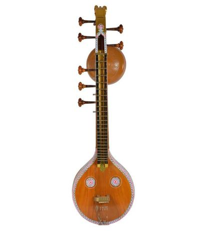 Sg Musical  Veena  with Standard Stand, Mela Cover and Veena Cover