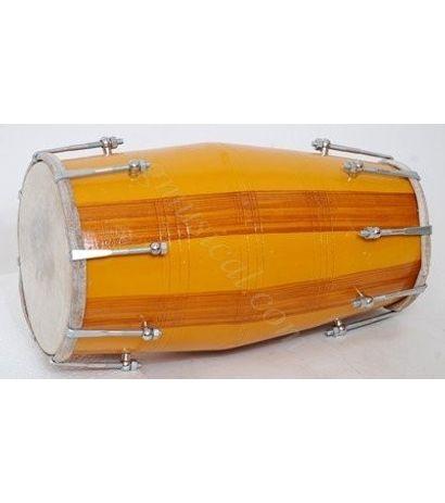 Mango Wood Dholak by SG Musical