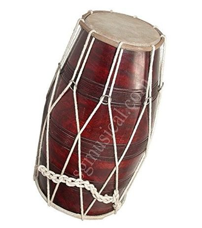 Rope-Tunned Dholak by SG Musical