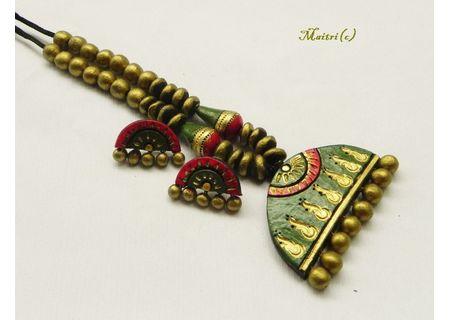 Terracotta Jewelry - Terracotta Set TSH354