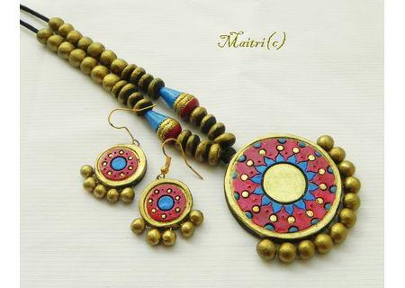 Terracotta Jewelry - Terracotta Set TSH372